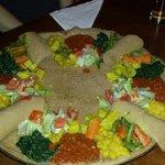 Sheba sharer platter