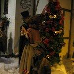 Macy's christmas dickens village