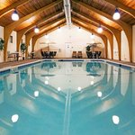 Relax in our Large Indoor  Pool