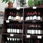 One of our wine displays
