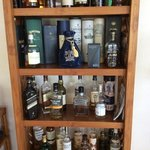 Whiskey selection