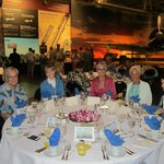 our special event dinner in the hangar