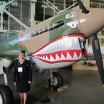 p-47 - me in my Pan Am uniform - 25 years later!