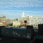 Hampton Inn Philadelphia Convention Center - view from our room
