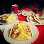Desayunos todo el día.