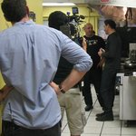 Filming with Rocco DiSpirito