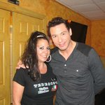 Rocco DiSpirito and Gia,our waitress
