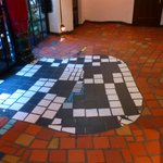 Kunsthaus Wien - uneven and interesting floors