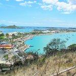 vue de fort de Marigot