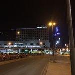 Exterior at night
