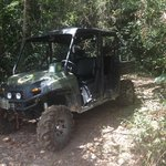 Our ride to Sapodilla Waterfall