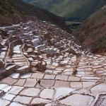 Salt fields in Maras