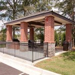 Candlewood Suites Athens GA Guest Gazebo Grilling area