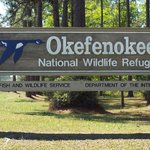 Entrance to Okefenokee National Wildlife Refuge