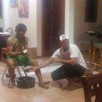 Paulo's coconut show