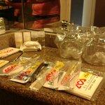 Los accesorios que brinda el hotel