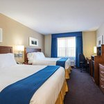 Enjoy a mini-refigerator and microwave in our Two Queen Bed Rooms