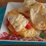 Omelet con ojaldras