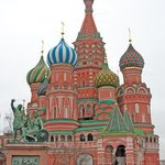 Minin-Pozharsky Monument & St. Basil's Cathedral