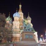 Minin-Pozharsky & St. Basil's at Night