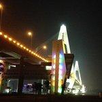 Shinji Bridge nigt lights