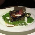 The eggplant appetizer