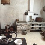 Old-style kitchen and dining room