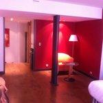 De kamer van het hotel