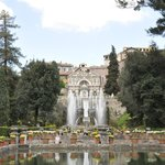 Palace and Fountains
