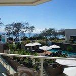View over pool & ocean