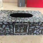 our beautiful gift - tissue box holder