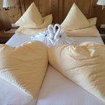 So nett werden hier die Betten gemacht!