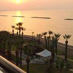 Sunrise at the Palm Beach