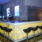 The bar by the lounge area