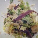 Caesar Salad that was enough to split.