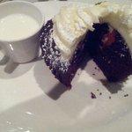 Red Velvet Birthday Cupcake.