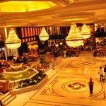 Lobby of the Shangri-La Kowloon