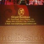 Grand Residence, Chennai2 ........Er.Brahadeesh.K