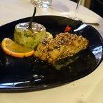 Filet de cabillau with sesame
