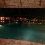 Bar près de la piscine et de la plage