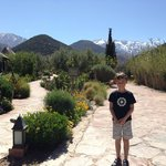 Glorious gardens and scenery at the Kasbah