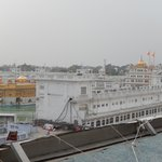 The Golden Temple  - view from hotel
