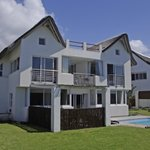 Luxury beach villas
