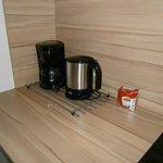 Kaffemaschine + Wasserkocher