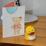 Birthday card & free duck!