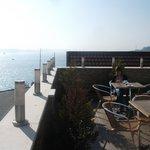 Rooftop view across the Bosphorus.
