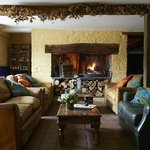 Relax on the comfy sofas