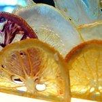 Steirereck - citrus chips