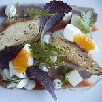 Cured Duck, Salmon & Egg