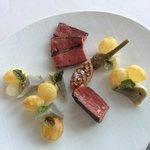 la viande cuite à merveille